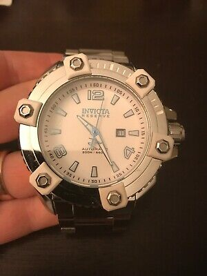 Invicta Reserve 63mm Grand Octane Arctic Swiss HP Watch 27599 45/1000 SOLD OUT