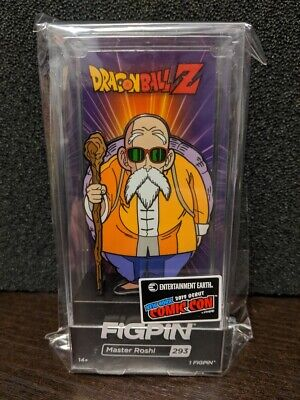 🐉IN HAND🐉FiGPiN🐉NYCC 2019 DEBUT🐉MASTER ROSHI #293🐉DRAGON BALL Z🐉EE EXCLUSI