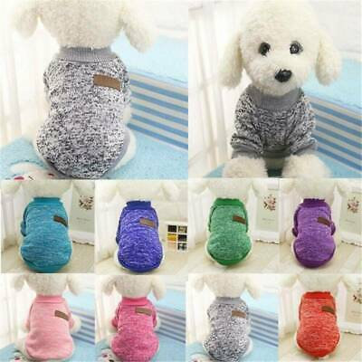 Pet Coat Dog Jacket Spring Clothes Puppy Cat Sweater Coat Clothing Apparel S-XL