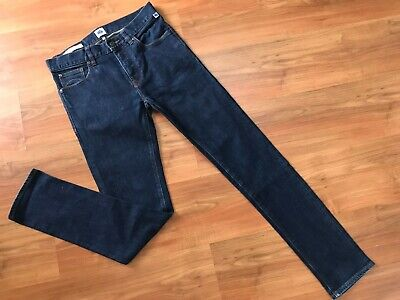 Mens Blue SKINNY PRETTY GREEN CASTLEFIELD JEANS (28x31) *GREAT COND*