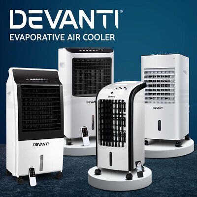 20%OFF Evaporative Air Cooler Portable Fan Water Cooling Fans Conditioner Home