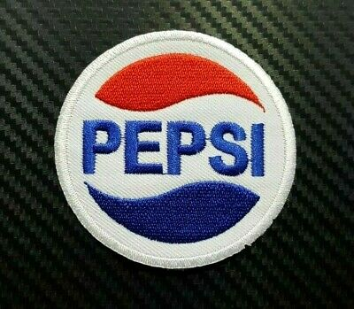 PEPSI COCA COLA DRINK FUNNY ENJOY BIKER CAP Embroidered Iron Sew On Patch Logo