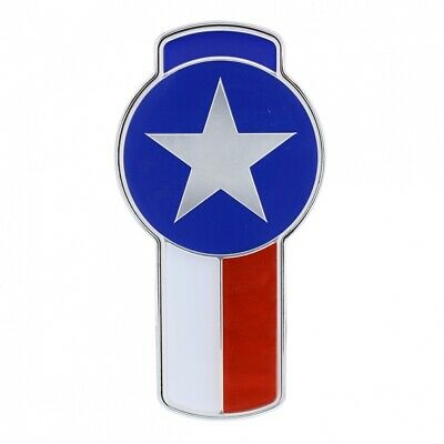 Kenworth Small Chrome Emblem - Texas