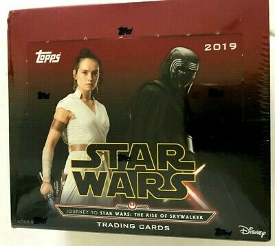 2019 Topps Star Wars Journey To Star Wars: The Rise Of Skywalker Retail Box