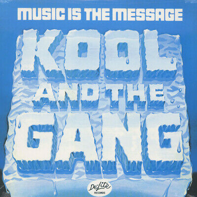 Kool & The Gang - Music is the message (Vinyl LP - 1971 - US - Reissue)