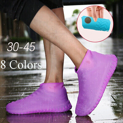 Latex Rainproof Non-slip Rain Boots Footwear cover Shoe Covers Slip-resistant