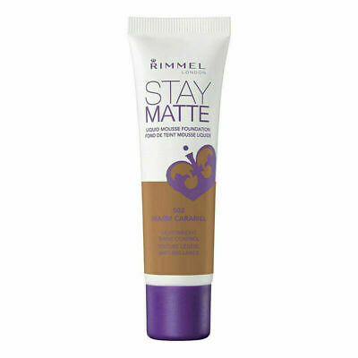 Rimmel London Stay Matte Liquid Mousse Foundation 30ml  [502 Warm Caramel]