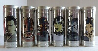 Burger King 2005 Complete Set of 6 Star Wars Watches Sealed in Tins