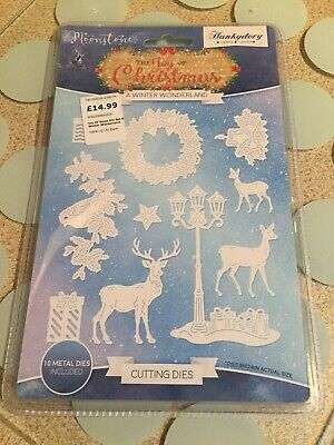 Hunkydory - The Joy of Hunkydory - Moonstone LET IT SNOW (Snowflakes) Craft Die