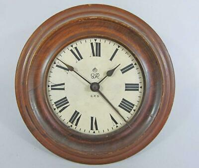 GENUINE GPO POST OFFICE WALL CLOCK GEORGE VI 1930s timepiece
