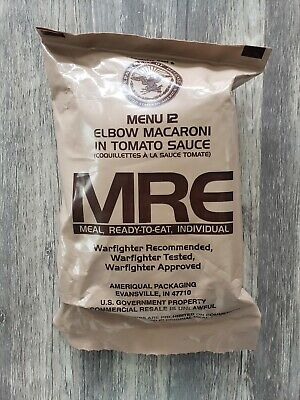 New MRE Meals 2019 US MILITARY MEALS READY TO EAT You Pick Meal. Survival Food