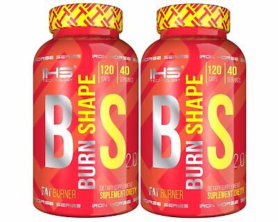 Burn Shape 120/240 caps. Strongest Fat Burner Weight Loss Diet Pills Thermogenic