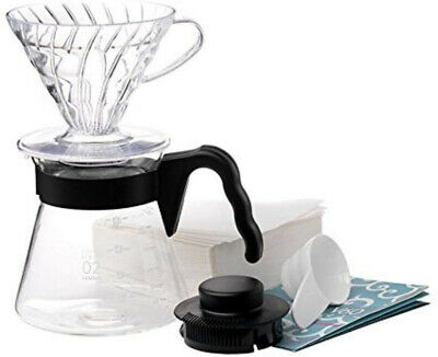Hario Pour Over Kit with 700 ml V60 Dripper/Coffee Server/Filter...
