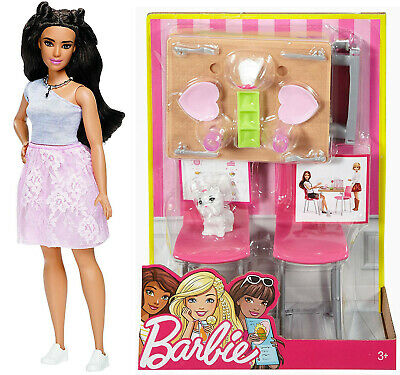 Barbie Date Night & Accessories Playset with Doll