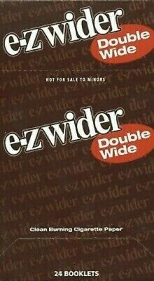 EZ Wider Double Wide Rolling Papers 24pack Buy 10 Get 1 Free
