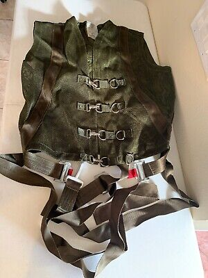 military harness aircraft safety (monkey harness)