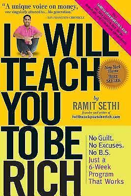 I Will Teach You to Be Rich by Ramit Sethi Paperback Budgeting Saving Wealth