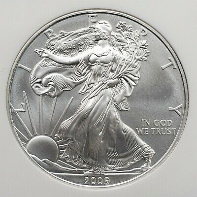 2009 American Silver Eagle - NGC MS 69 - Early Releases