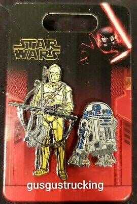New Disney Parks (Star Wars (Rise of Skywalker) C3PO & R2D2) Open Edition Pin
