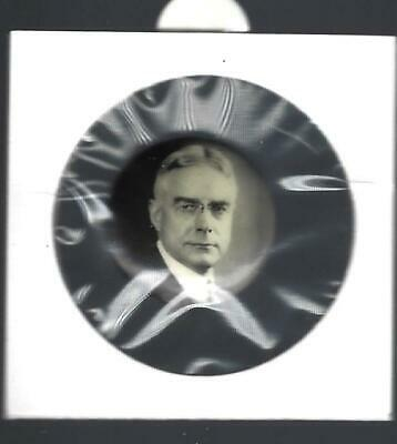 Vintage Ritchie For President Picture Campaign Button - Grey Tone