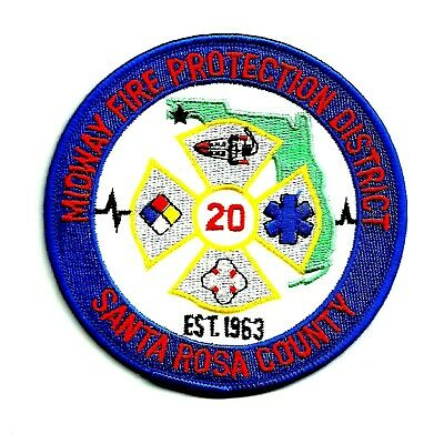 FLORIDA - Midway Fire Protection District Patch