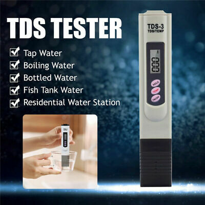 TDS Tester Boiling Digital Ph Meter Aquarium Pool Hydroponic Water Monitor ! NEW