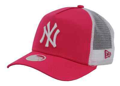 New Era NY Yankees MLB 9FORTY League Essential Women Beetroot Purple/Optic Whit