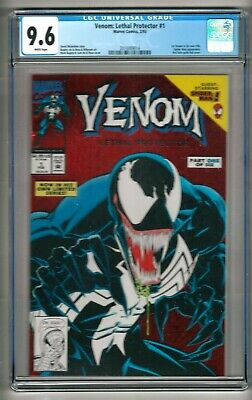 Venom: Lethal Protector #1 (1993) CGC 9.6  White Pages  Michelinie - Bagley