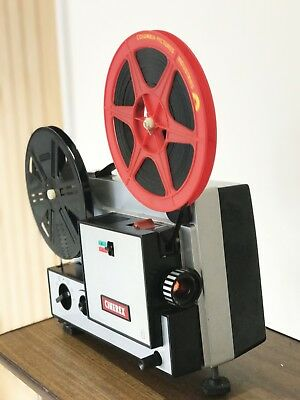 CINEREX 707 DUAL VARIABLE SPEED SUPER 8  8mm CINE MOVIE FILM PROJECTOR