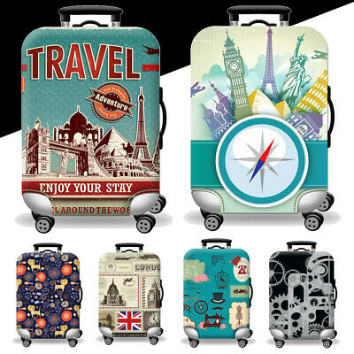 18-20 Inch Elastic Travel Luggage Suitcase Cover Bag Dustproof Protector Case