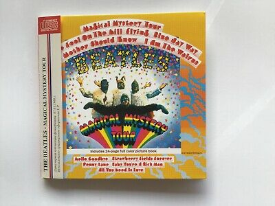 Beatles - magical mystery tour CD  miniature LP sleeve + stapled booklet/inserts