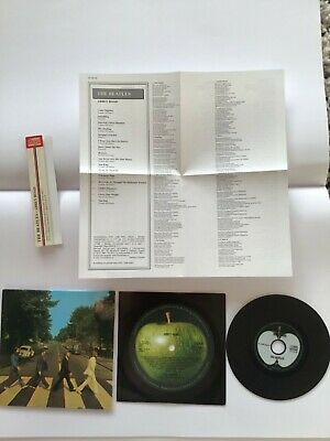 The Beatles - abbey road CD in mini LP sleeve + inserts