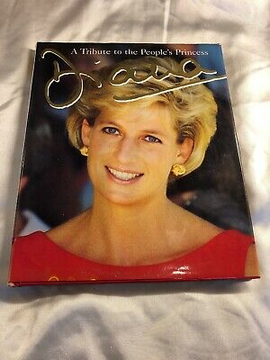 DIANA - A Tribute to the People's Princess - Peter Donnelly - Hardback Book 1997