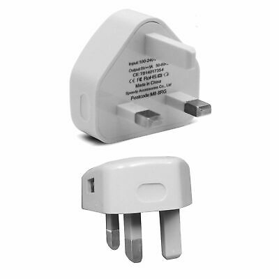 Genuine Charging Plug &Cable Charger Lead For Apple iPhone 4,4S,3GS,iPod,iPad2&1