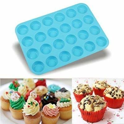 OHQ 24 Moule a GaTeau Mulberry Cavite Muffin Silicone Cookies Ustensiles De Cuis