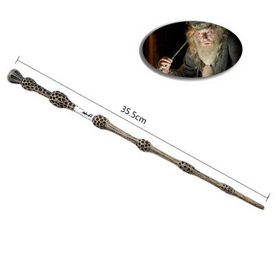 """Harry Potter Magic Wand 14"""" Cosplay Hermione Dumbledore Halloween Golden Snitch"""