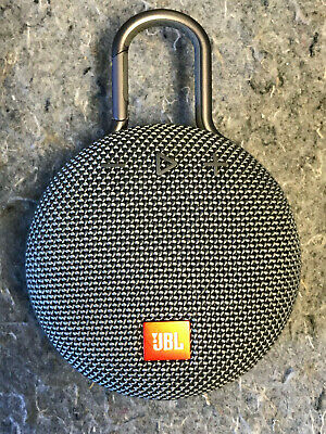 JBL Clip 3 Waterproof Portable Clip-On Bluetooth Speaker
