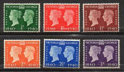 GREAT BRITAIN 1940 Centenary of First Adhesive Postage Stamps