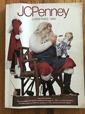 1980 JCPenney Christmas Store Catalog 579 pages Clothes Toys Star Wars Mego Cars
