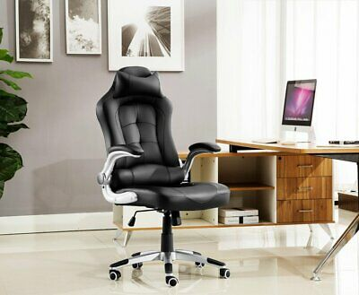 Luxury Chair Executive Racing Gaming Office Rock Lift Swivel Computer Desk