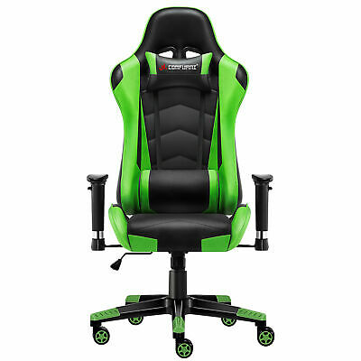 Luxury Executive Chair Racing Gaming Office Rock Lift Swivel Computer Desk Chair
