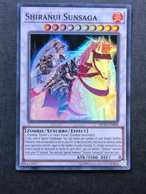 Shiranui Sunsaga OP10 Super Rare - Yugioh Cards #1MA