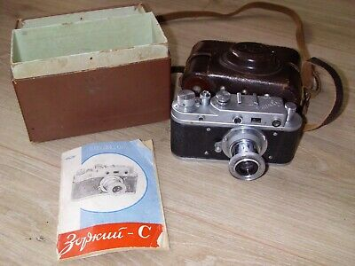Zorki C Boxed With Case +Instructions.