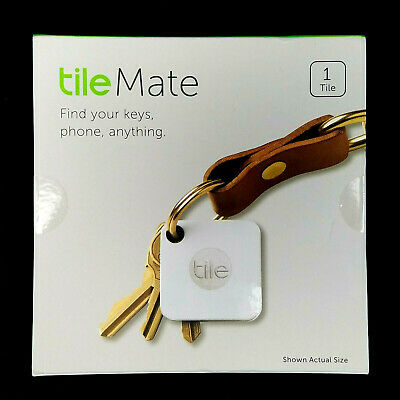Tile Mate Key Finder T3001 Bluetooth Key and Phone Tracker - New