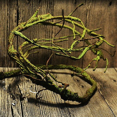 Ultra-high Simulation Twistable Repital Climbing Jungle Vine Terrarium Decor