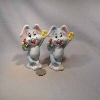 Vintage Bugs Bunny S&P Shakers