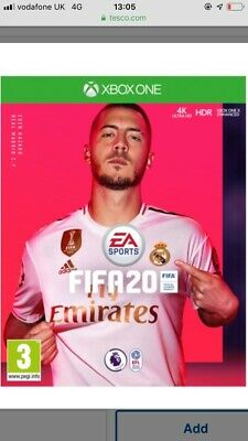 FIFA 20 (Xbox One) Game | BRAND NEW SEALED | FAST FREE POST |