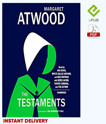 The Testaments - The Sequel to The Handmaid's by Margaret Atwood EPUB and PDF