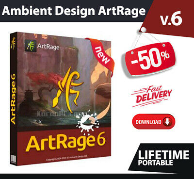 Ambient Design ArtRage 6 ✅ Licensed Full version🔥Fast email  Delivery🔓