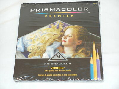 New PRISMACOLOR Premier 24 pc Colored Pencils  *FREE SHIPPING*  Missing 2, 22